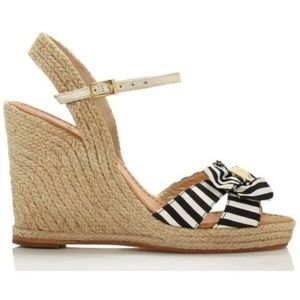 Kate Spade Carmelita Espadrille Wedge Sandal NEW!